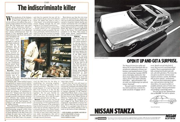Article Preview: The indiscriminate killer, August 1985 | Maclean's