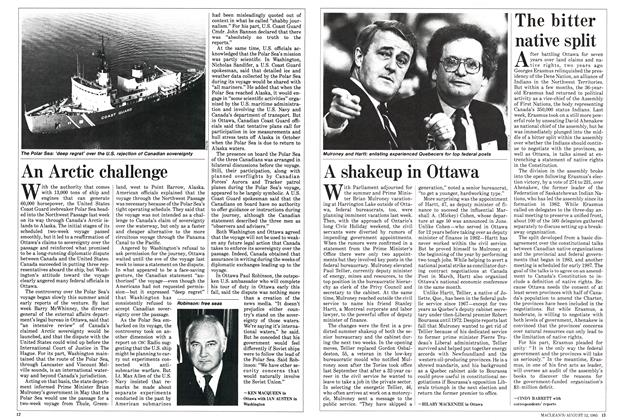 Article Preview: A shakeup in Ottawa, August 1985 | Maclean's