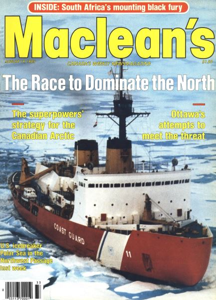 Issue: - August 1985   Maclean's