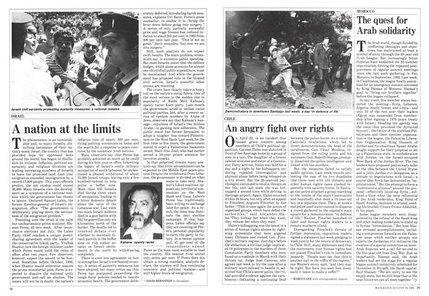 Article Preview: An angry fight over rights, August 1985 | Maclean's
