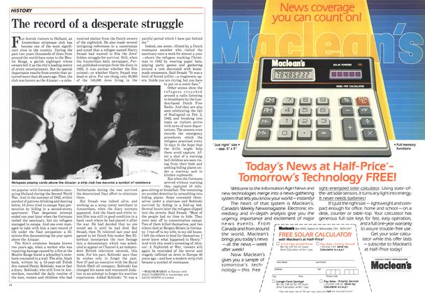 Article Preview: The record of a desperate struggle, August 1985   Maclean's