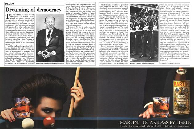 Article Preview: Dreaming of democracy, August 1985   Maclean's