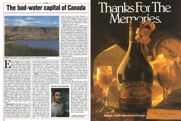 Article Preview: The bad-water capital of Canada, August 1985 | Maclean's