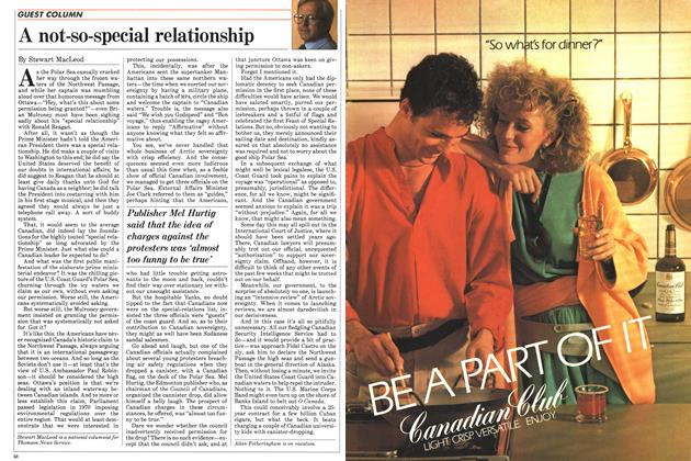 Article Preview: A not-so-special relationship, August 1985 | Maclean's