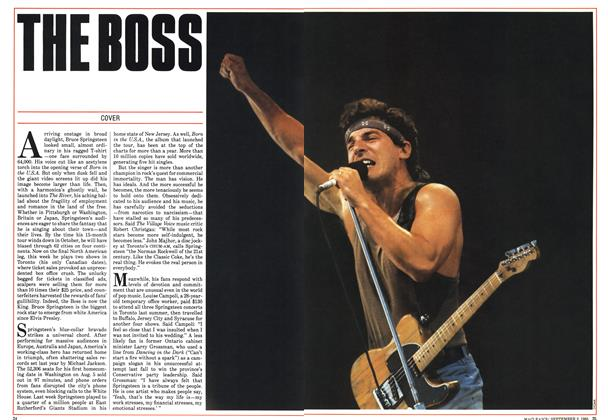 Article Preview: THE BOSS, September 1985 | Maclean's
