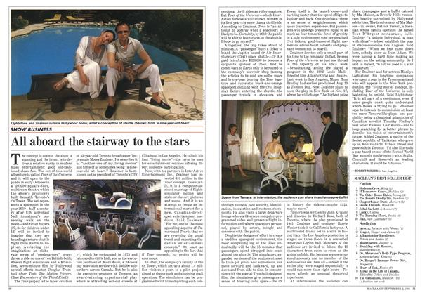 Article Preview: All aboard the stairway to the stars, September 1985 | Maclean's