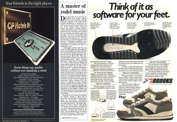 Article Preview: A master of yodel music, September 1985 | Maclean's
