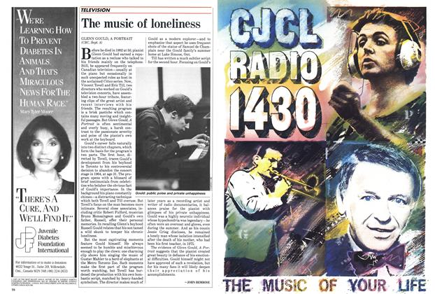 Article Preview: The music of loneliness, September 1985 | Maclean's