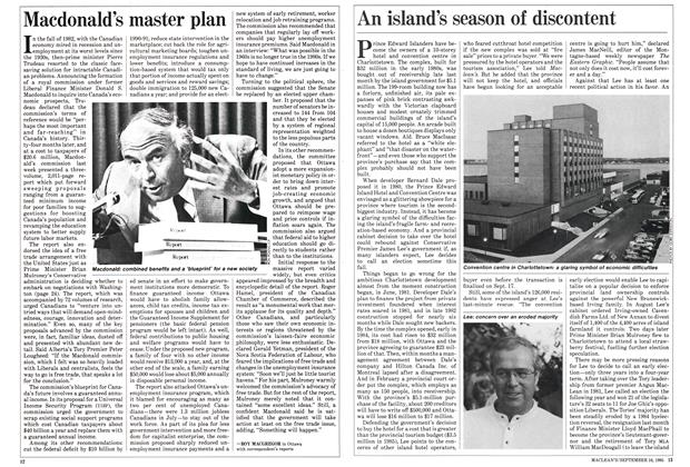 Article Preview: Macdonald's master plan, September 1985 | Maclean's