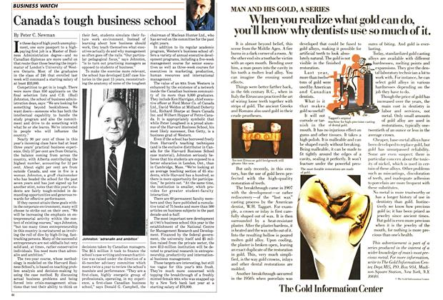 Article Preview: Canada's tough business school, September 1985 | Maclean's