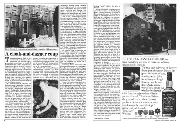 Article Preview: A cloak-and-dagger coup, September 1985 | Maclean's