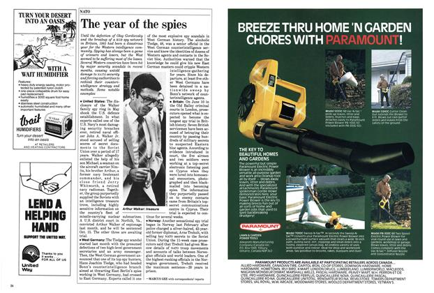 Article Preview: The year of the spies, September 1985 | Maclean's