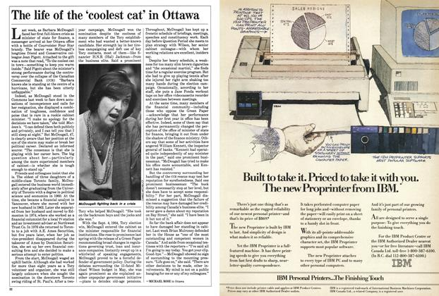 Article Preview: The life of the 'coolest cat' in Ottawa, September 1985 | Maclean's
