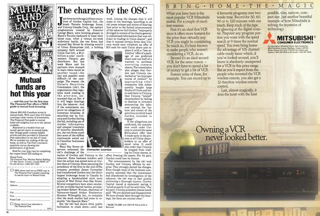 Article Preview: The charges by the OSC, September 1985 | Maclean's