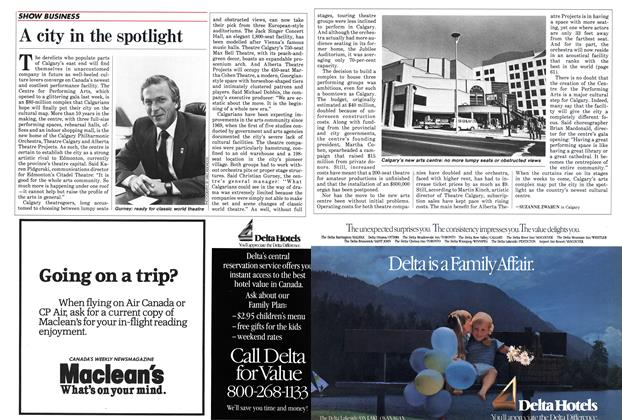 Article Preview: A city in the spotlight, September 1985 | Maclean's