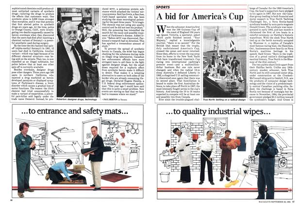 Article Preview: A bid for America's Cup, September 1985   Maclean's