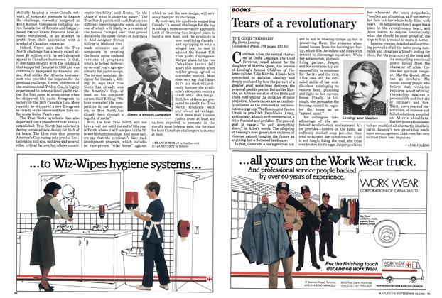 Article Preview: Tears of a revolutionary, September 1985 | Maclean's