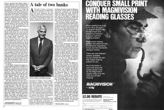 Article Preview: A tale of two banks, September 1985 | Maclean's