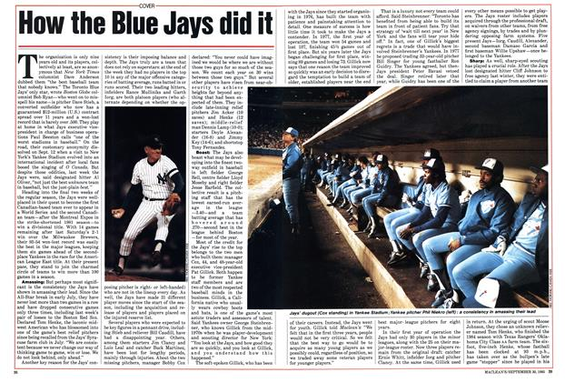 Article Preview: How the Blue Jays did it, September 1985 | Maclean's