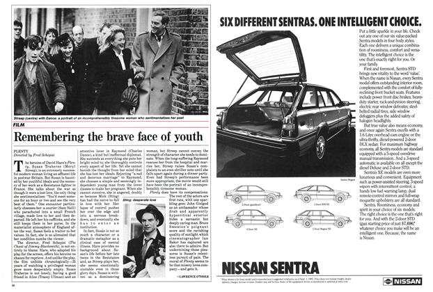 Article Preview: Remembering the brave face of youth, September 1985 | Maclean's