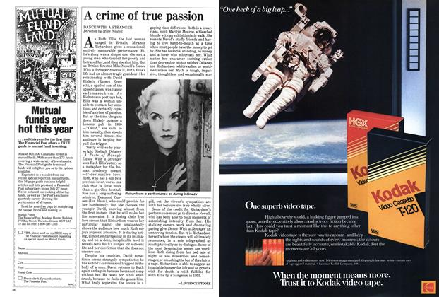 Article Preview: A crime of true passion, September 1985 | Maclean's