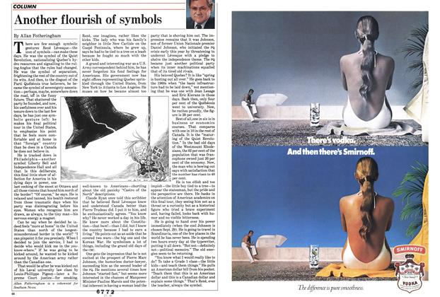 Article Preview: Another flourish of symbols, September 1985 | Maclean's