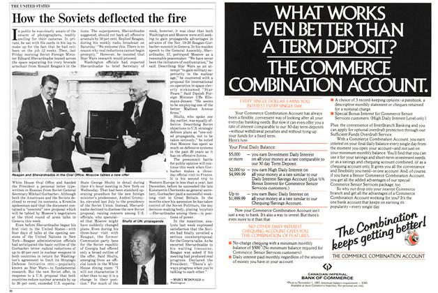 Article Preview: How the Soviets deflected the fire, October 1985 | Maclean's