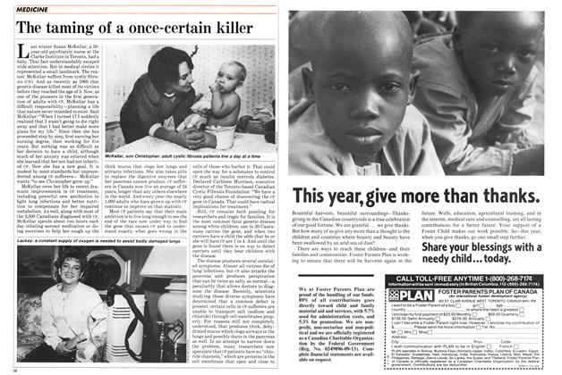 Article Preview: The taming of a once-certain killer, October 1985 | Maclean's