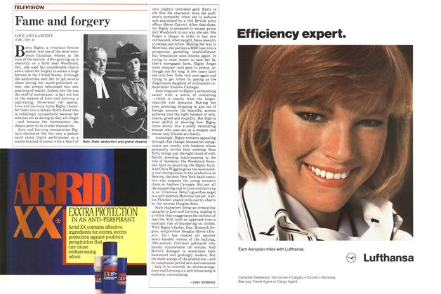 Article Preview: Fame and forgery, October 1985 | Maclean's