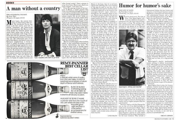 Article Preview: A man without a country, October 1985 | Maclean's