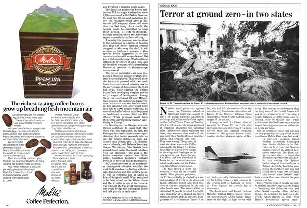 Article Preview: Terror at ground zero-in two states, October 1985 | Maclean's