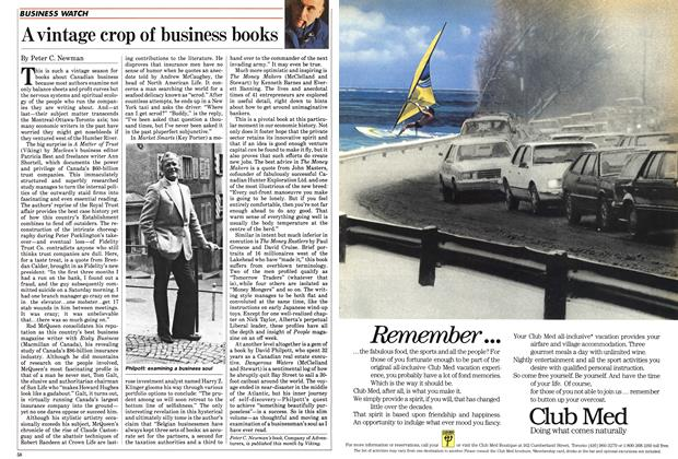 Article Preview: A vintage crop of business books, October 1985 | Maclean's