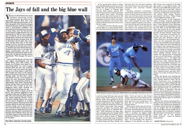 Article Preview: The Jays of fall and the big blue wall, October 1985 | Maclean's