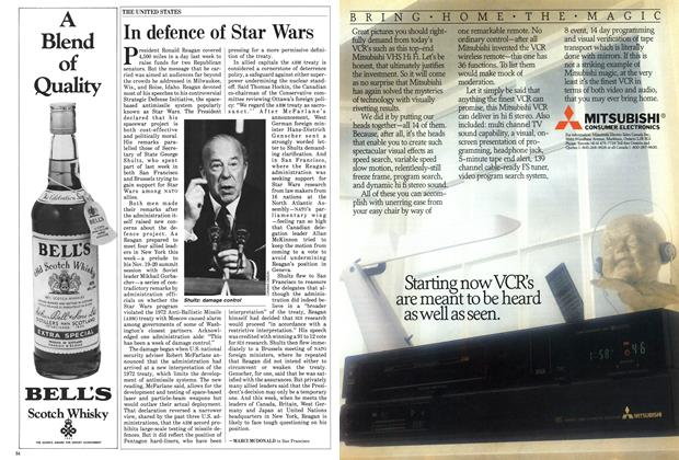 Article Preview: In defence of Star Wars, October 1985 | Maclean's