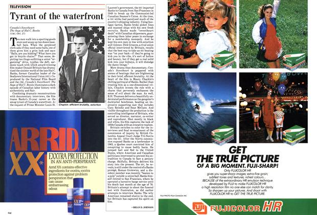 Article Preview: Tyrant of the waterfront, October 1985 | Maclean's