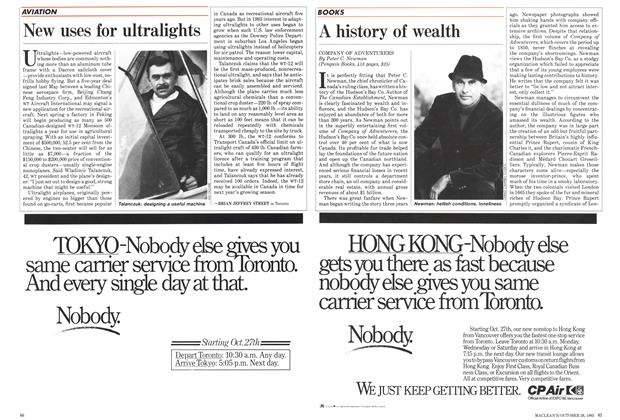 Article Preview: A history of wealth, October 1985 | Maclean's