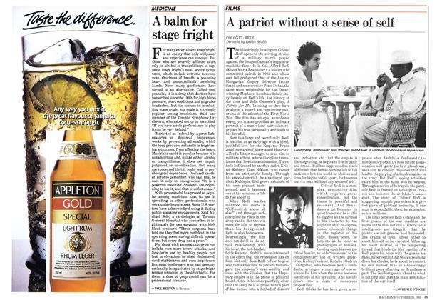 Article Preview: A patriot without a sense of self, October 1985 | Maclean's