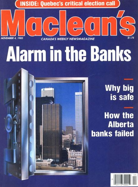 Issue: - November 1985 | Maclean's