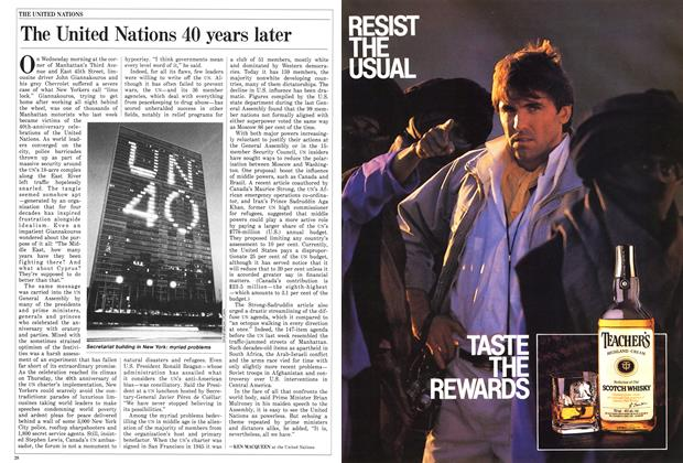 Article Preview: The United Nations 40 years later, November 1985 | Maclean's