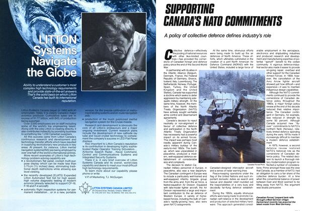 Article Preview: SUPPORTING CANADA'S NATO COMMITMENTS, November 1985 | Maclean's
