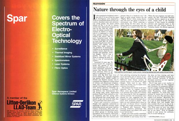 Article Preview: Nature through the eyes of a child, November 1985 | Maclean's