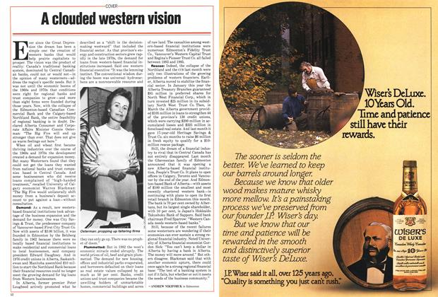 Article Preview: A clouded western vision, November 1985 | Maclean's