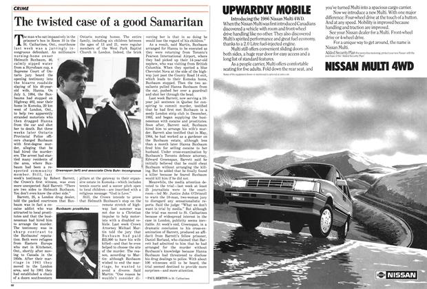 Article Preview: The twisted case of a good Samaritan, November 1985 | Maclean's