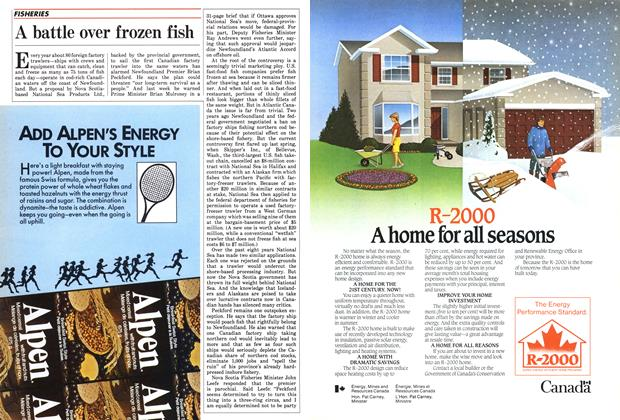 Article Preview: A battle over frozen fish, November 1985 | Maclean's