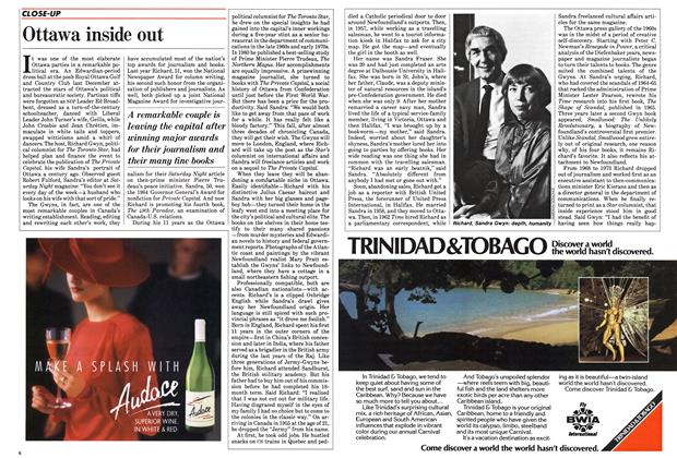 Article Preview: Ottawa inside out, November 1985 | Maclean's
