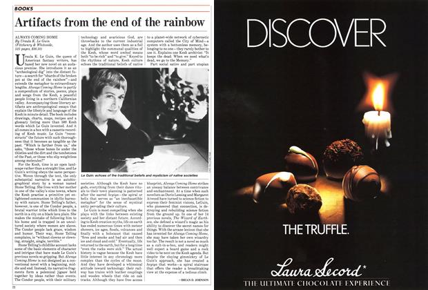 Article Preview: Artifacts from the end of the rainbow, November 1985 | Maclean's