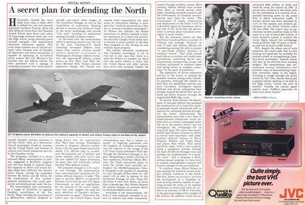 Article Preview: A secret plan for defending the North, November 1985 | Maclean's