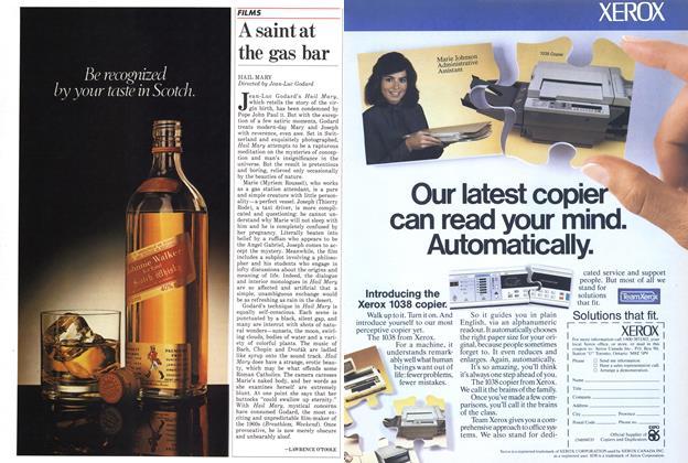 Article Preview: A saint at the gas bar, November 1985 | Maclean's