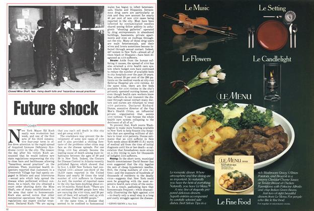 Article Preview: Future shock, November 1985 | Maclean's
