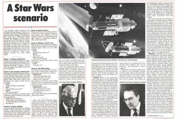 Article Preview: A Star Wars scenario, November 1985 | Maclean's